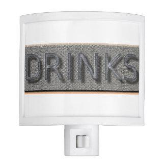 """""""Bar"""" Drinks* Night Light"""
