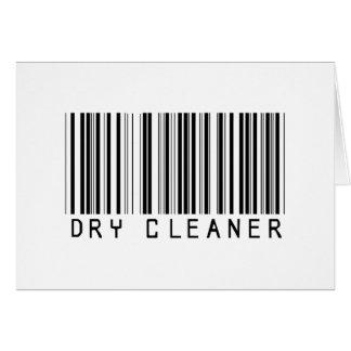 BAR DRY CLEANER LIGHT CARD