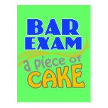 Bar Exam - Piece of Cake Postcards