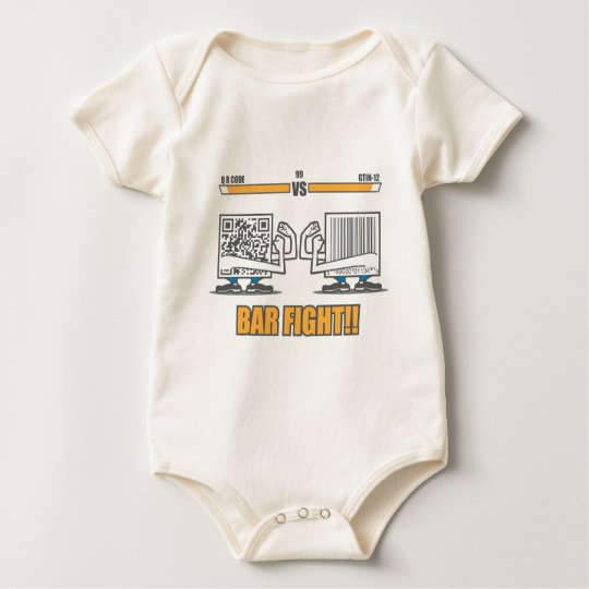 Bar Fight Baby Bodysuit