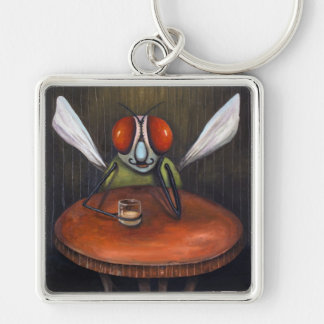 Bar Fly Keychain