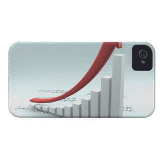 Bar graph and arrow with formula iPhone 4 case