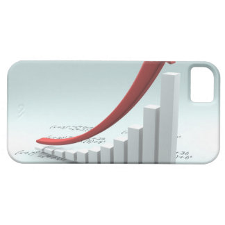 Bar graph and arrow with formula iPhone SE/5/5s case