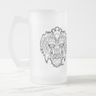 BAR GUY FROSTED GLASS BEER MUG