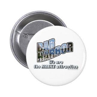 Bar Harbor 2 Inch Round Button