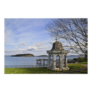 Bar Harbor Gazebo Poster