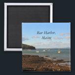 "Bar Harbor Magnet<br><div class=""desc"">Boats in the harbor of Bar Harbor,  Maine</div>"