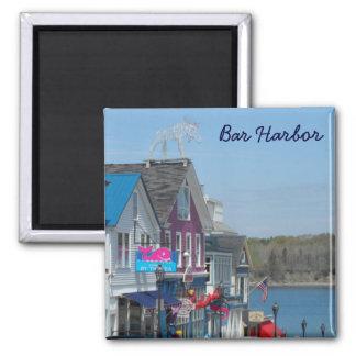 Bar Harbor, Maine 2 Inch Square Magnet