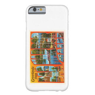 Bar Harbor Maine ME Old Vintage Travel Souvenir Barely There iPhone 6 Case