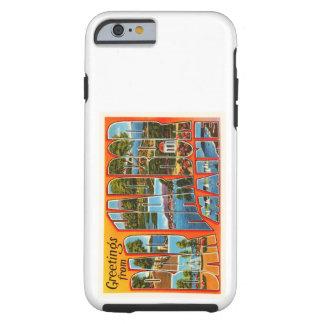 Bar Harbor Maine ME Old Vintage Travel Souvenir Tough iPhone 6 Case