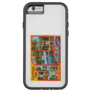 Bar Harbor Maine ME Old Vintage Travel Souvenir Tough Xtreme iPhone 6 Case