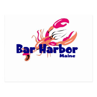 Bar Harbor, Maine Postcard