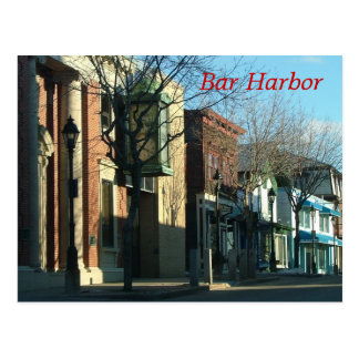 Bar Harbor Postcard