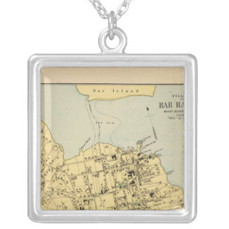 Bar Harbor Silver Plated Necklace