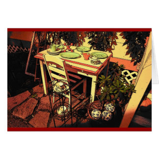 Bar Harbor Table Card (No Sentiment)