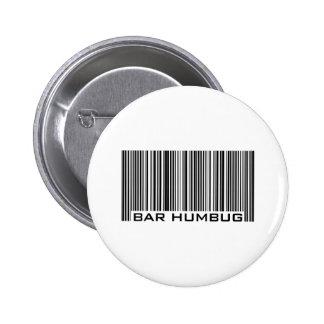 Bar Humbug - Christmas Gift Button