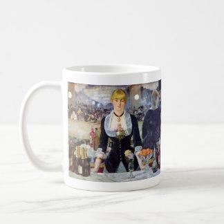 Bar in the Folies-Bergere by Edouard Manet Classic White Coffee Mug