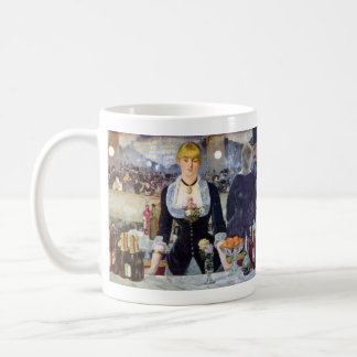 Bar in the Folies-Bergere by Edouard Manet Coffee Mug