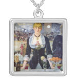 Bar in the Folies-Bergere by Edouard Manet Custom Necklace