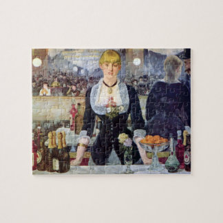Bar in the Folies-Bergere by Edouard Manet Jigsaw Puzzle