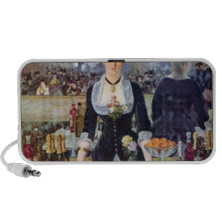 Bar in the Folies-Bergere by Edouard Manet iPhone Speaker