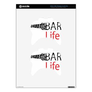 Bar Life Wear Xbox 360 Controller Skin