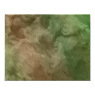 Bar Mitzvah Brown and Green Marbled Invites