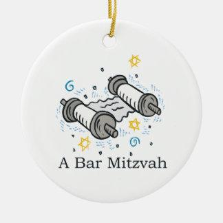 Bar Mitzvah Ceramic Ornament
