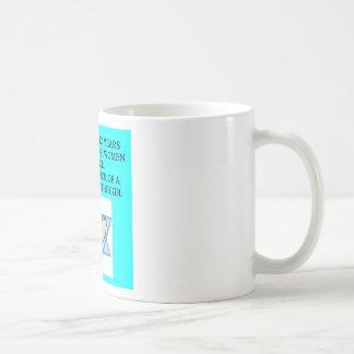 BAR MITZVAH CLASSIC WHITE COFFEE MUG