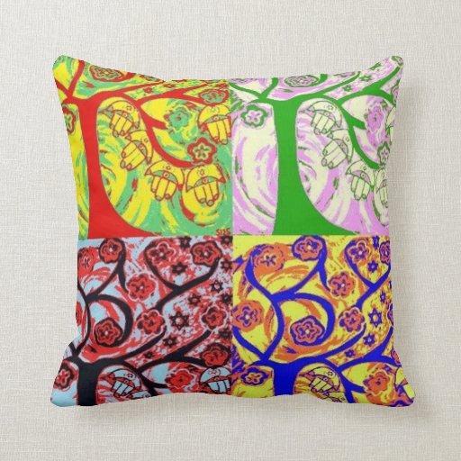 Bar Mitzvah Give-A-Way Tree of Life Pillow