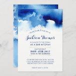"BAR MITZVAH gold stylish blue watercolor invite<br><div class=""desc"">by kat massard >>> kat@simplysweetPAPERIE.com <<< - - - - - - - - - - - - - - - - - - - - - - - - - - - - - - - - - - - - - - - - - - - - -...</div>"