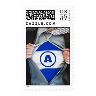 Bar Mitzvah Hero Stamp, Medium Postage