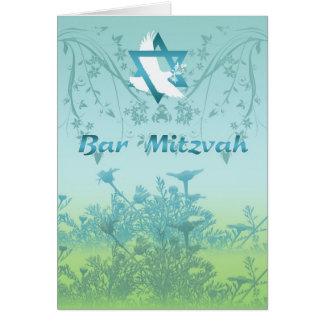 Bar Mitzvah Invitation Card For Ceremony