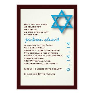 Bar Mitzvah Invitation Jackson
