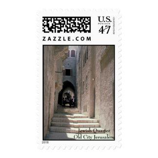 Bar Mitzvah Invitation Old City Jerusalem Postage