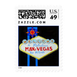 Bar Mitzvah Las Vegas with Star personalized Postage
