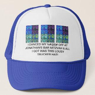 Bar Mitzvah 'Lousy Trucker Hat GiveAway' - Hamsa
