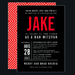 """BAR MITZVAH modern bold geometric type black red Invitation<br><div class=""""desc"""">by kat massard >>> WWW.SIMPLYSWEETPAPERIE.COM <_0d_0a_-20_-20_-20_-20_-20_-20_-20_-20_-20_-20_-20_-0d_0a_contact20_me20_to20_help20_with20_balancing20_your20_type20_perfectly0d_0a_love20_the20_design2c_20_but20_would20_like20_to20_see20_some20_changes20_-20_another20_color20_scheme2c_20_product2c_20_add20_a20_photo20_or20_adapted20_for20_a20_different20_occasion20_-20_no20_worries20_simply20_contact20_me2c_20_kat40_simplysweetpaperie.com20_-20_i20_am20_happy20_to20_help21_0d_0a_-20_-20_-20_-20_-20_-20_-20_-20_-20_-20_-20_- -="""""""" contact="""""""" me="""""""" to="""""""" help="""""""" with="""""""" balancing="""""""" your="""""""" type="""""""" perfectly="""""""" love="""""""" the="""""""" _design2c_="""""""" but="""""""" would="""""""" like="""""""" see="""""""" some="""""""" changes="""""""" another="""""""" color="""""""" _scheme2c_="""""""" _product2c_="""""""" add="""""""" a="""""""" photo="""""""" or="""""""" adapted="""""""" for="""""""" different="""""""" occasion="""""""" no="""""""" worries="""""""" simply="""""""" _me2c_="""""""" _kat40_simplysweetpaperie.com="""""""" i="""""""" am="""""""" happy="""""""" _help21_=""""""""></_0d_0a_-20_-20_-20_-20_-20_-20_-20_-20_-20_-20_-20_-0d_0a_contact20_me20_to20_help20_with20_balancing20_your20_type20_perfectly0d_0a_love20_the20_design2c_20_but20_would20_like20_to20_see20_some20_changes20_-20_another20_color20_scheme2c_20_product2c_20_add20_a20_photo20_or20_adapted20_for20_a20_different20_occasion20_-20_no20_worries20_simply20_contact20_me2c_20_kat40_simplysweetpaperie.com20_-20_i20_am20_happy20_to20_help21_0d_0a_-20_-20_-20_-20_-20_-20_-20_-20_-20_-20_-20_-></div>"""