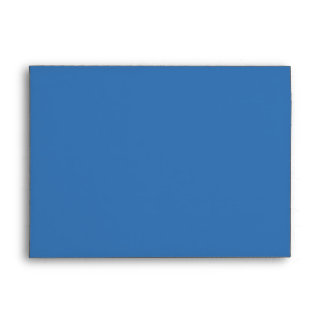 Bar Mitzvah Movie Star Invitation Envelope Blue