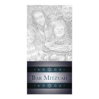 Bar Mitzvah Photo Card