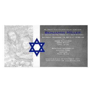 Bar Mitzvah Photo Invitations Photo Card