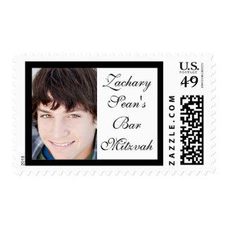 Bar Mitzvah Photo Stamp