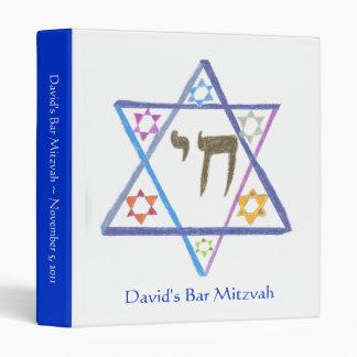 Bar Mitzvah Planner / Scrapbook / Photo Album Binder