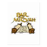 Bar Mitzvah Postcard