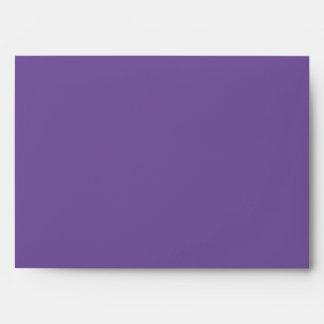 Bar Mitzvah Purple Techno Streaks Envelope