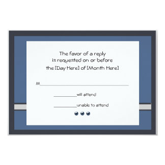 Bar Mitzvah RSVP Cards