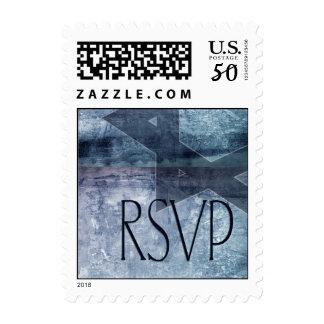 Bar Mitzvah RSVP Postage Stamp
