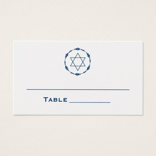 Bar Mitzvah Seating Cards Table Cards Place Cards