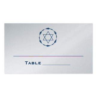 Bar Mitzvah Seating Cards Table Cards Place Cards Business Cards