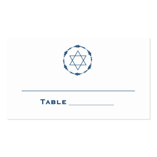 Bar Mitzvah Seating Cards Table Cards Place Cards Double-Sided Standard Business Cards (Pack Of 100)